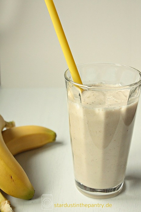 Leckerer Power Maca Smoothie for more energy and a better mood
