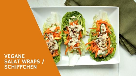 Vegane Salat Wraps