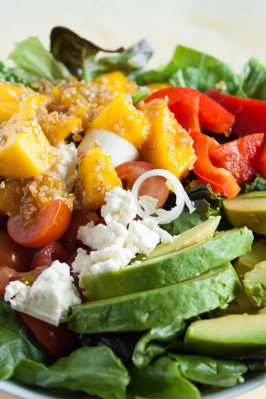 Mango Avocado Salat