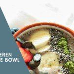 Heidelbeeren Smoothie Bowl