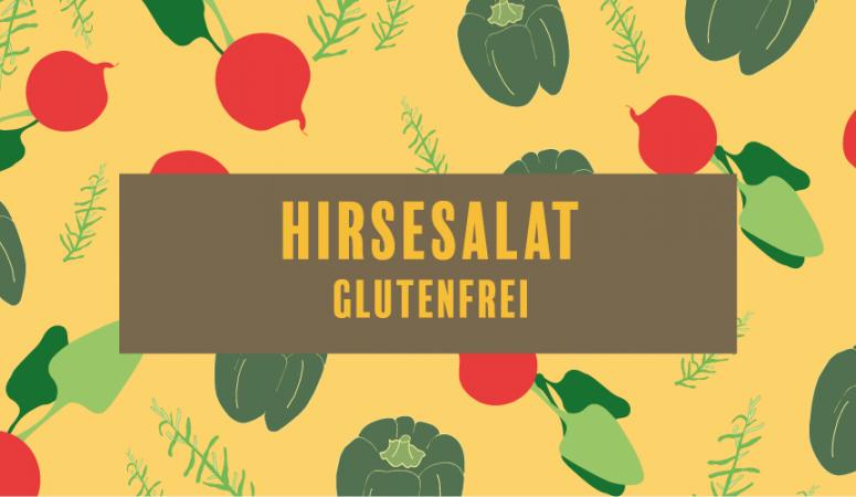 glutenfreier Hirsesalat