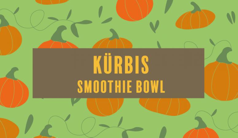 Kürbis Smoothie Bowl