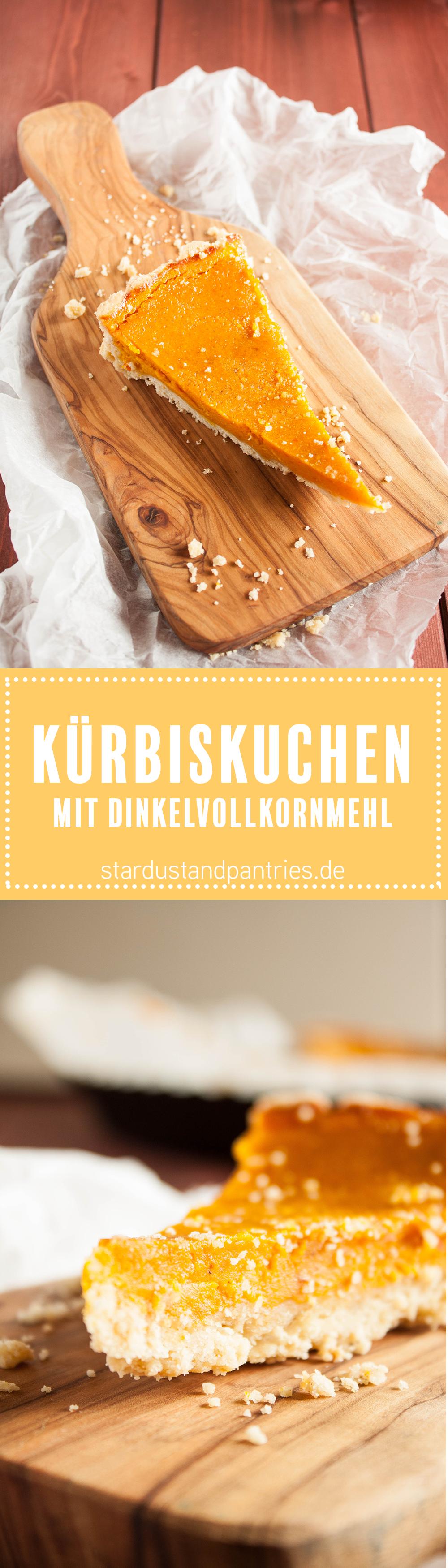 Einfaches Rezept für einen leckeren und saftigen Kürbiskuchen. Die vielen Gewürzen machen den Kuchen zu einem perfekten Herbstkuchen! Gratis Rezeptkarte gibt es auf dem Blog zum Herunterladen!