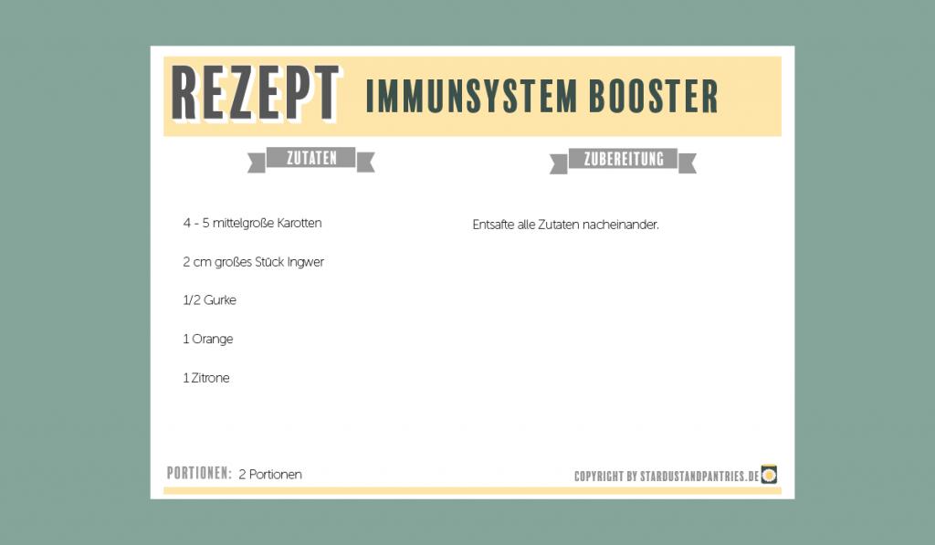 Saft Rezept für einen Immunsystem Booster! Genau das richtige um eine Erkältung abzublocken oder schneller gesund zu werden!