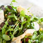 Vegan Monday – Mediterraner Rucola Salat mit Artischocken