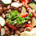 Vegan Monday Bohnensalat