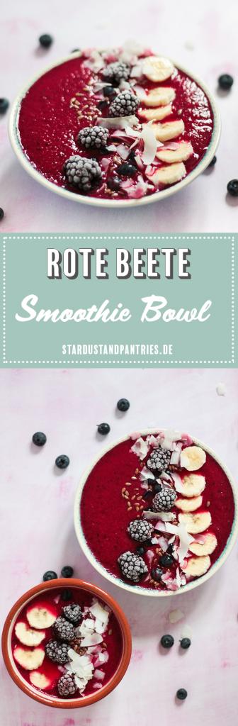 Vegane rote Beete Smoothie Bowl mit Melone und Mango schmeckt fruchtig sommerlich! Ein gesundes, leckeres und farbenfrohes Frühstück - perfekt für das Wochenende! Gesund in den Tag starten!