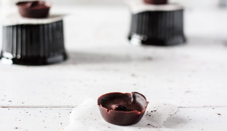 Schokoladen-Erdnussbutter-Cups