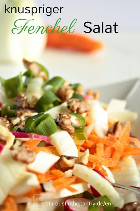 Leckerer bunter Fenchel Salat