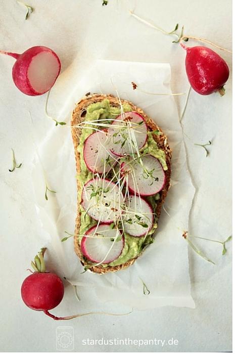 Leckeres Avocado Sandwich - vegan!