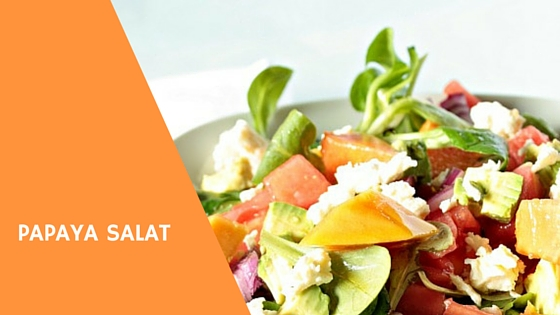 einfacher Papaya Salat