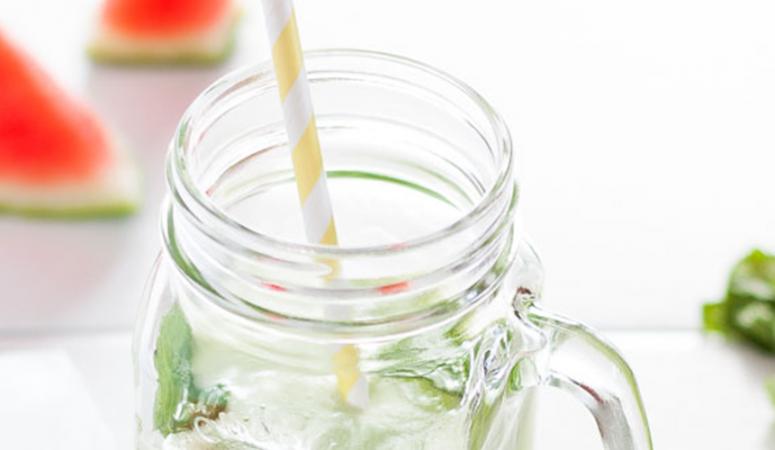 Vegan Monday Melonen-Gurken-Limetten-Saft