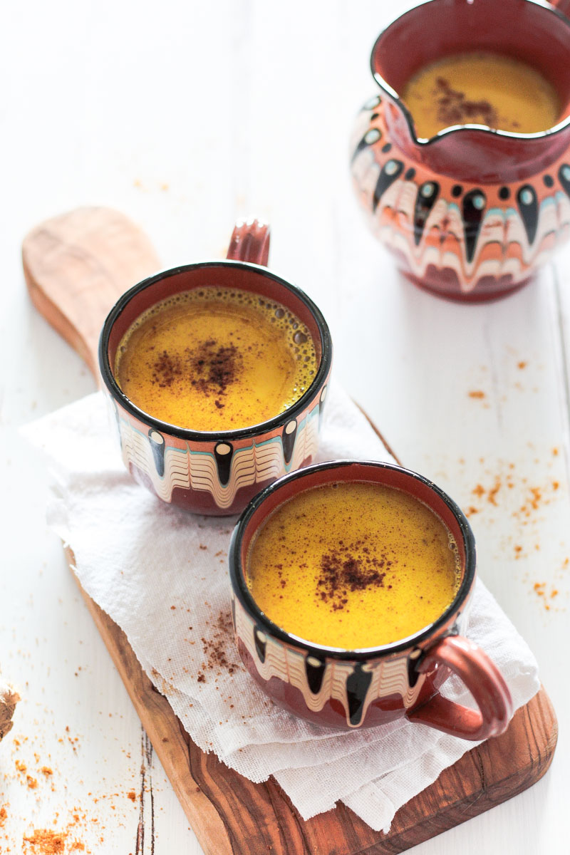 Vegane goldene Milch - entzündungshemmendes Getränk