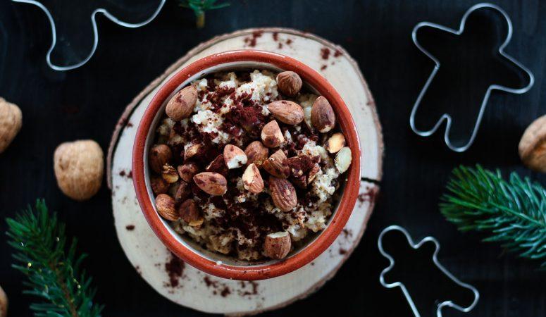 Vegan Monday – veganes und zuckerfreies Lebkuchen Porridge