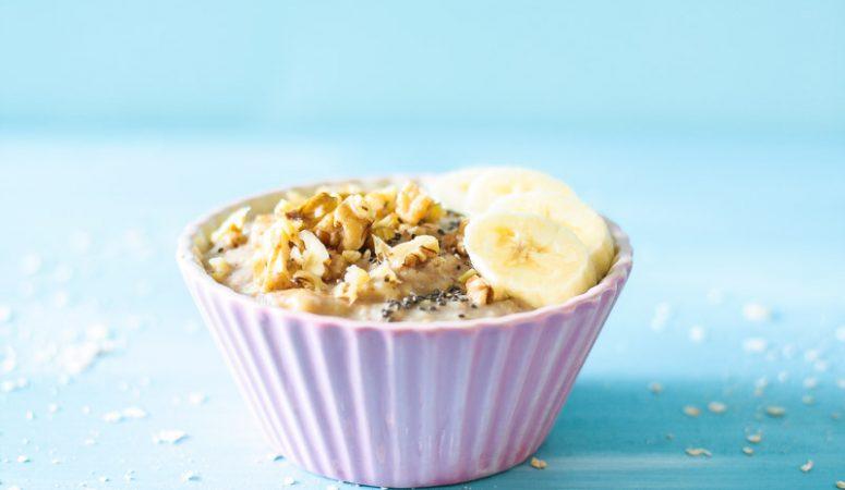 Vegan Monday – veganes Bananenbrot Porridge