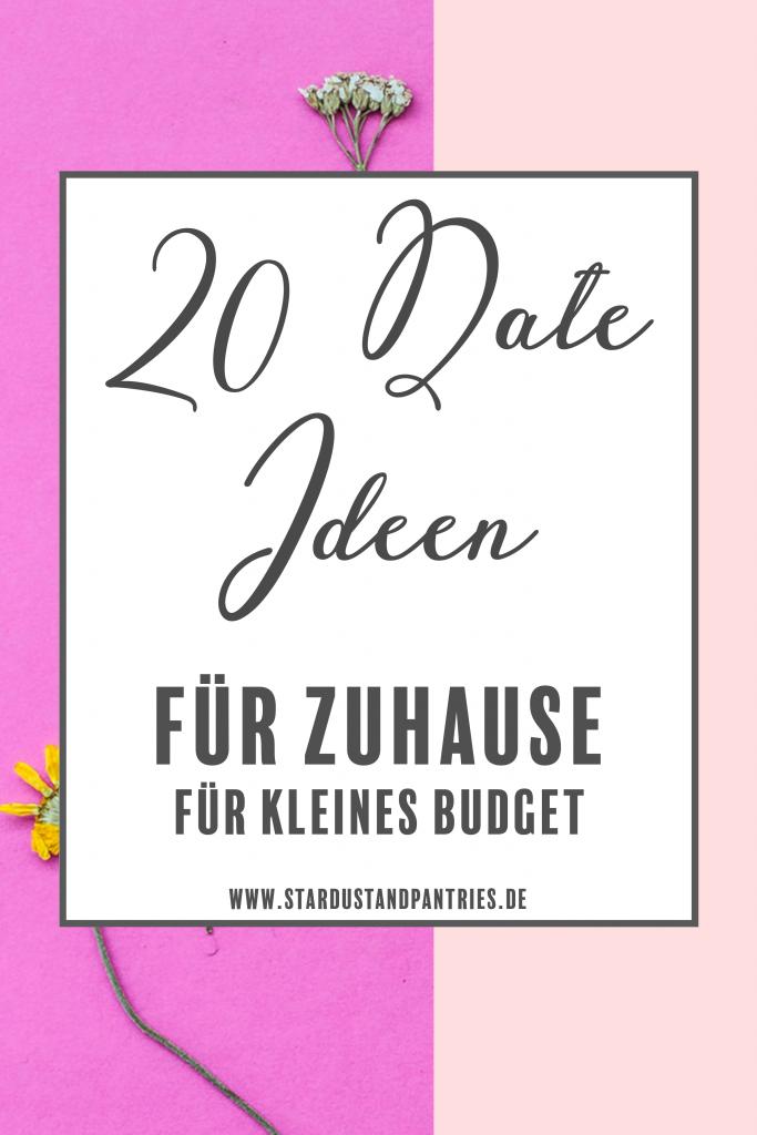 20 Date Ideen für Zuhause für ein kleines Budget. Klick dich durch für Date Inspirationen für Paare #Dateideen #Date #Zuhause #Corona