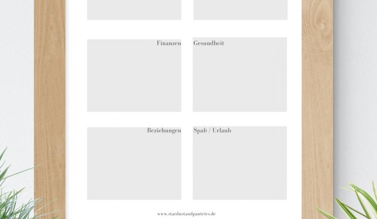 Erstelle dein Visionboard